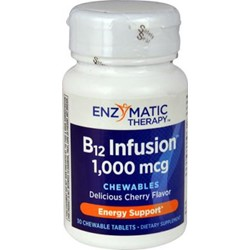 B12 Infusion™30 Vegetarian tablets